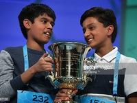 Hai quán quân vô địch nhỏ tuổi cuộc thi đánh vần khó nhất nước Mỹ