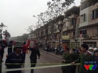 Sau vụ nổ kinh hoàng ở Văn Phú, người dân vẫn chưa hết bàng hoàng