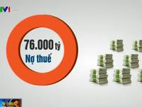 Nan giải xử lý 76.000 tỷ đồng nợ thuế