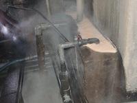 Xử phạt gần 900 triệu đồng doanh nghiệp xả thải ra sông Hậu