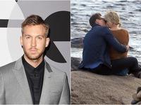"""""""Cắm sừng"""" Calvin Harris, Taylor Swift thoải mái khóa môi chàng Loki"""