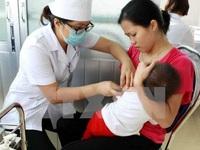 Gần 2 triệu trẻ em được tiêm vaccine viêm não Nhật Bản