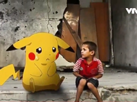 Người dân Syria bắt Pokemon giữa đổ nát chiến tranh
