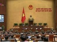 Quốc hội thông qua Nghị quyết phát triển kinh tế - xã hội 2016-2020
