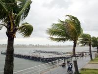 Vùng tâm bão số 1 sẽ đi vào địa phận các tỉnh Thái Bình - Nam Định