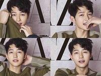 Hình ảnh Song Joong Ki ngập tràn tạp chí Harpers Bazaar