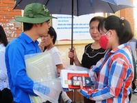 """Gần 13.000 tình nguyện viên tham gia """"Tiếp sức mùa thi"""" 2016"""