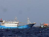 Tàu cá bị đâm chìm ở Hoàng Sa: 5 ngư dân được cứu trở về đất liền