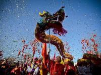 Không khí đón Tết Nguyên đán của người châu Á trên thế giới