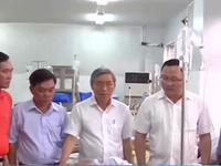 Lãnh đạo Ủy ban ATGT Quốc gia thăm nạn nhân TNGT tại Quảng Ngãi