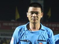 VPF treo còi trọng tài Hà Anh Chiến đến hết mùa giải năm 2016