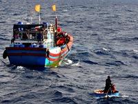 14 ngư dân tàu Đna-90604 đã được cứu, 2 ngư dân mất tích
