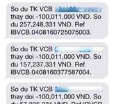 Vietcombank nói gì vụ khách không giao dịch vẫn mất 500 triệu trong tài khoản?