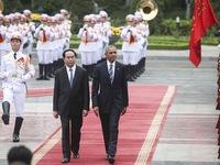 Lễ đón chính thức Tổng thống Hoa Kỳ Barack Obama tại Hà Nội
