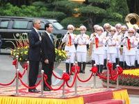 Tổng thống Barack Obama thăm Việt Nam tạo thêm động lực cho mối quan hệ Việt - Mỹ