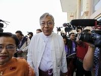 Ông Htin Kyaw đắc cử Tổng thống Myanmar