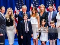 Gia đình - Sức mạnh tranh cử Tổng thống Mỹ của Donald Trump
