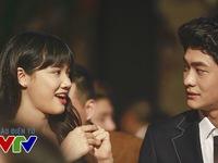 Kang Tae Oh – Nhã Phương nắm tay nhau đến VTV Awards 2016