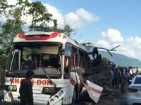 Vụ nổ xe khách tại Lào: Do trên xe có thuốc pháo