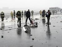 Vụ rơi máy bay ở Nga: FlyDubai bác giả thuyết máy bay bị tấn công khủng bố