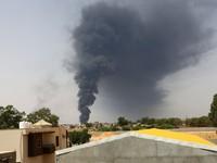 Cháy kho chứa dầu lớn ở Libya