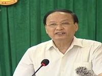 Đồng chí Tô Huy Rứa tiếp xúc cử tri tại TP Bắc Ninh