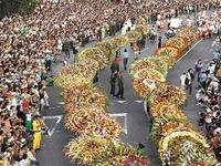 Lễ hội hoa rực rỡ sắc màu tại Colombia