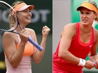 Roland Garros: Thắng nhọc 'fan' Bouchard, Masha thẳng tiến vào chung kết