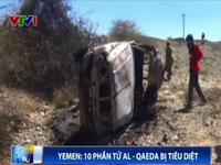 Yemen: 10 phần tử Al-Qaeda bị tiêu diệt