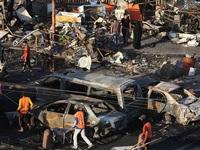 Đánh bom xe liều chết ở Iraq, hơn 40 người thương vong