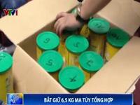 Hải quan Nội Bài bắt giữ 6,5 kg ma túy tổng hợp