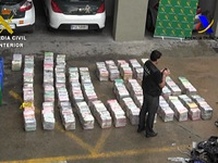 Tây Ban Nha: Tịch thu 900 kg cocaine