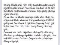 Nhiều người dùng Facebook tại Việt Nam bị yêu cầu đổi mật khẩu