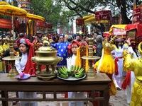 Lễ hội đền thờ Hai Bà Trưng