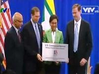 Mỹ mở văn phòng ngoại thương đầu tiên tại Myanmar