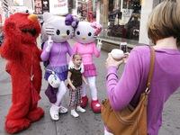 Quảng trường Thời đại có thể kém vui vì thiếu các nhân vật hóa trang