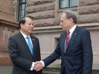 Quốc hội Thụy Điển luôn quan tâm hợp tác với Việt Nam