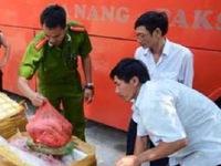 Thu giữ 840kg nội tạng động vật không rõ nguồn gốc