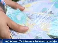 Bán hàng qua điện thoại, tiểu thương chợ Đồng Xuân nhận phải tiền âm phủ