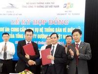 Đường sắt Việt Nam triển khai hệ thống bán vé điện tử