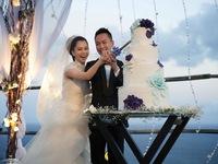Đám cưới đẹp như mơ ở Bali của Từ Nhược Tuyên