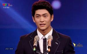 VTV Awards 2015: Fan thích thú khi Kang Tae Oh gửi lời chào bằng tiếng Việt