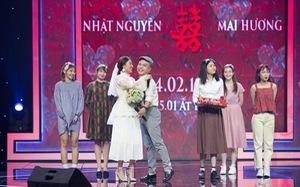Văn Mai Hương hóa cô dâu trên sân khấu, tái hiện đám cưới cổ tích thập niên 90