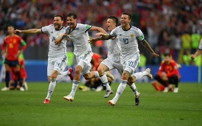 Thắng Tây Ban Nha, ĐT Nga tái hiện kỳ tích của ĐT Liên Xô tại FIFA World Cup