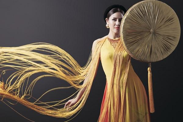 Ngây ngất với vẻ đẹp của Nguyễn Thị Loan trong tà áo tứ thân - Ảnh 6.