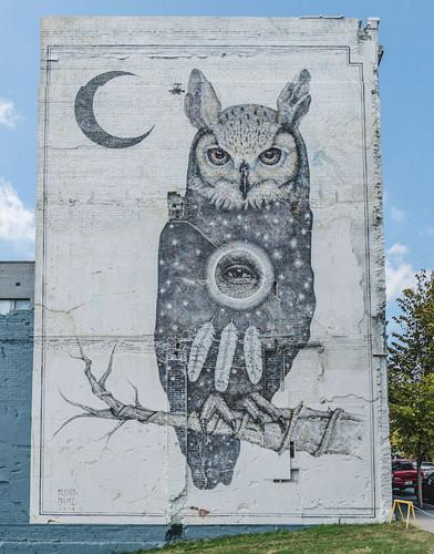 """Ngôi nhà bỏ hoang """"hồi sinh"""" dưới bàn tay của các nghệ sĩ đường phố - Ảnh 10."""