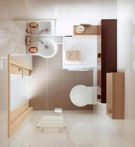 11 ý tưởng thiết kế thông minh cho phòng tắm nhỏ - Ảnh 1.