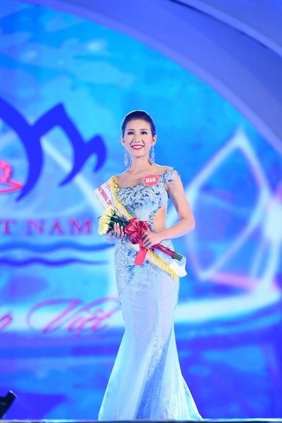 Đại diện Việt Nam dự thi Hoa hậu Liên lục địa bị ném đá vì tiếng Anh kém - Ảnh 1.