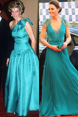 Sự tương đồng giữa bất ngờ giữa Kate Middleton và Công nương Diana - Ảnh 10.