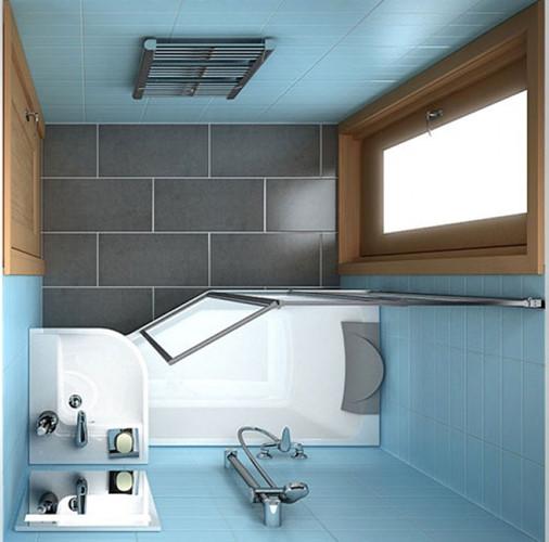 11 ý tưởng thiết kế thông minh cho phòng tắm nhỏ - Ảnh 2.